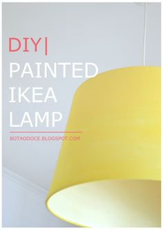 PAINTED IKEA LAMP DIY