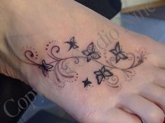 Foot Tattoos, Designs And Ideas : Page 23