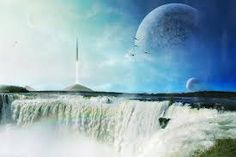 Image result for futuristic landscape rocket