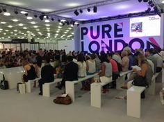 WGSN Trend Seminar is about to start on Grand Hall Stage. #Pure34