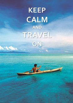 Keep calm and Travel on #warwick_hotels #quote #travel #happiness