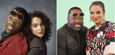 "From Facebook - ""Because of Them We Can by Eunique Jones"" page 3/29/2016.  It looks like one of our favorite TV couples, Dwayne and Whitley (Kadeem Hardison and Jasmine Guy), will be reuniting on screen!  This time in a different world, well on a different TV show, as Guy will be guest starring in three episodes of Disney's K.C. Undercover, which stars Zendaya as K.C., and Hardison as K.C.'s father.  The episode is set to air on the Disney Channel April 10.  #becauseofthemwecan"