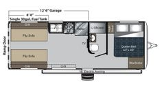 2017 Carbon 22 Floor Plan