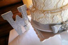 White Wedding Cake, via Flickr.