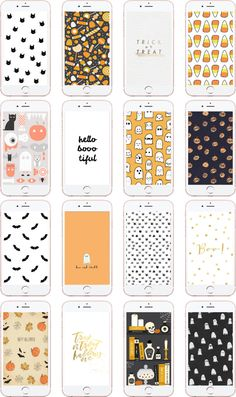 16 Festive iPhone Wallpaper Designs for Halloween | ShellyMade