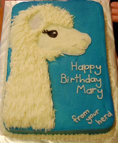 And now my life is complete because they have Alpaca cakes!