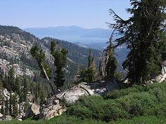 Tahoe Rim Trail - 165 mile loop around Lake Tahoe