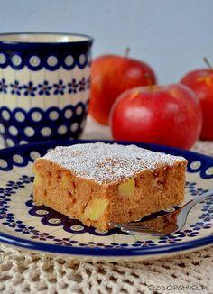 szybkie ciasto z jabłkami Tiramisu, French Toast, Cheesecake, Cookies, Breakfast, Ethnic Recipes, Sweet, Food Ideas, Crack Crackers