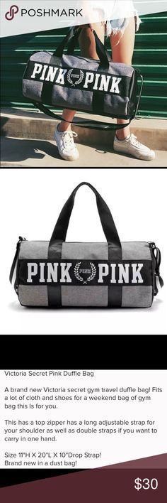 BRAND NEW DUFFLE GYM BAG W/ TAGS Brand new duffle gym bag with tags great for work out and weekend getaways  New Never USED Bags Travel Bags