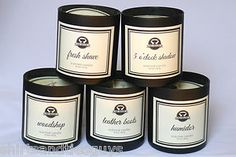 Manly Indulgence candles-these candles are so amazing! They're all manly scents-my favorites are 5 O'clock Shadow, Fresh Shave,  and Suit and Tie. You can find them cheap at TJMaxx!