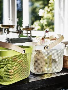 Ikea 2015 kitchen collection Ristatorp wire basket; Gardenista