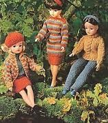 vintage knitted doll clothes - Google-Suche