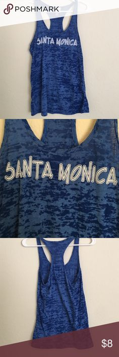 Santa Monica Beach top Purchased in santa monica. Great tank for the beach! Tops
