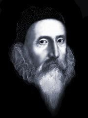 The events of Dr John Dee's life are filled with science, experiments, astrology and mathematics which he aligned with magic, the supernatural and alchemy. His name, strangely enough, even reflects the life he would lead. The surname 'Dee' derives from the Welsh Celtic word 'du' which means black.  Dee collected the greatest personal library in England, which he housed at his mother's residence at Mortlake.