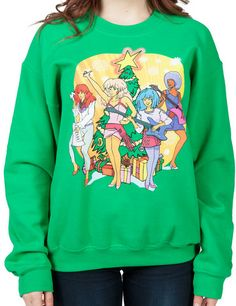 Jem and The Holograms Faux Christmas Sweater