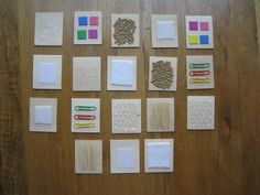 texture cards