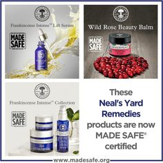 Neal's Yard Remedies Achieves MADE SAFE Certification for Best-Sellers