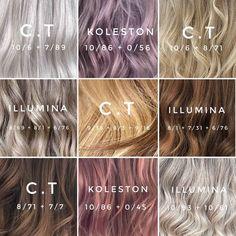 Wella Hair Toner, Redken Hair Color, Wella Illumina Color, Soft Balayage, Redken Hair Products, Hair Color Formulas, Hair Color Techniques, Beautiful Hair Color, Hair Reference