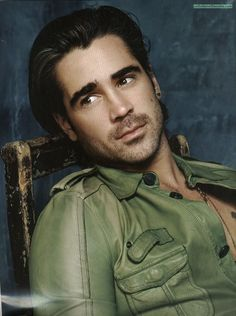 Marie Claire UK - Colin