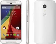 Motorola MOTO G 2nd Gen XT1068 Unlocked GSM Dual-SIM Quad-Core Smartphone – White  Choose a brilliant display, stereo sound, all-day battery, Dual-SIM support, and latest Android OS. Your choice: the MOTO G 2nd Generation. DUAL SIM 1st SIM GSM/GPRS/EDGE (850, 900, 1800, 1900 MHz) 3G UMTS/HSPA+ (850, 900, 1900, 2100 MHz) 2nd SIM GSM/GPRS/EDGE 2G ONLY (850, 900, 1800, 1900 MHz) DUAL SIM 1st SIM GSM/GPRS/EDGE (850, 900, 1800, 1900 MHz) 3G UMTS/HSPA+ (850, 900, 1900, 2100 MHz) 2nd SIM GS..