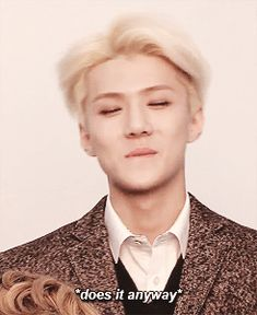 coz i think doing aegyo breaks him from the stone like motionless face... i just died. #sehun #aegyo #exo