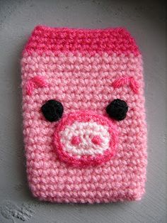 cell phone case - free pattern