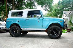 Beautiful International Scout 800