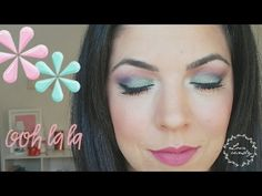 Maquillaje Primavera * Arco Iris Pop de COLOR! - Andrea Flores Tv - YouTube