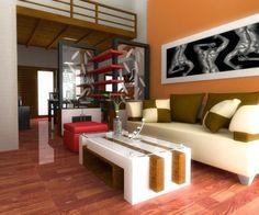 desain ruang tamu mungil sederhana living room