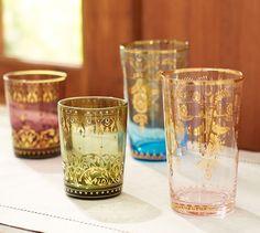 Moroccan Barware, Mixed Set of 4 | Pottery Barn