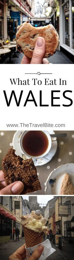 What To Eat In Wales!  From where to go, to what to eat, here is just a sample of the delicious comfort foods you'll find in Wales including Welsh Cakes, Bara Brith, Rarebit, and some of the best ice cream I've ever tasted.