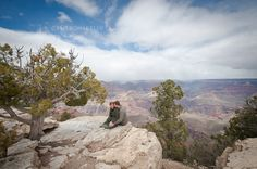 Grand Canyon Engagement Photos www.cameronkellyarizona.com #GrandCanyon #EngagementPhotos #Love