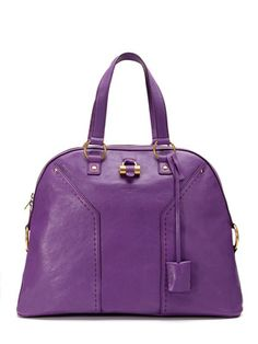 YSL Muse Oversize Dome Satchel