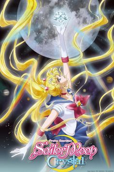 Summer 2014, Sailor Moon Crystal: Bummed that it only airs every other week.