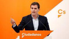 Rivera acusa a Sánchez de ser cómplice de los separatistas por no apoyar los presupuestos
