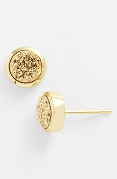 Marcia Moran Drusy Extravaganza Stud Earrings Available At Nordstrom Gold