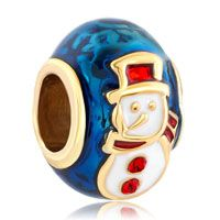 Christmas Gift Gold Plated Red Hat Snowman Faberge Egg Fit All Brands Beads Charms Bracelets Pinterest