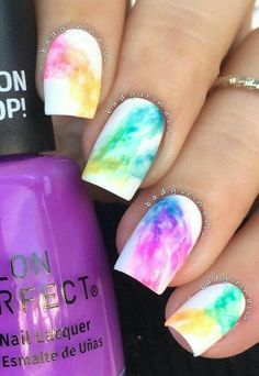 Trendy creative summer nail ideas design & color