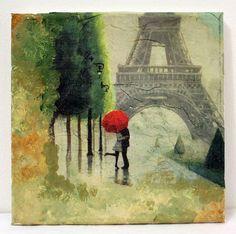 Loving in Paris by GreatMood on Etsy