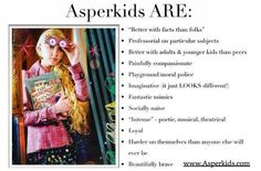 Aspergers - this so beautifully explains my son!