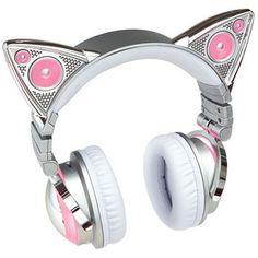 Limited Edition Ariana Grande Wireless Cat Ear Headphones