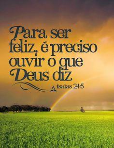 Ministério Vivo Deus Vivo: OUÇA A VOZ DE DEUS