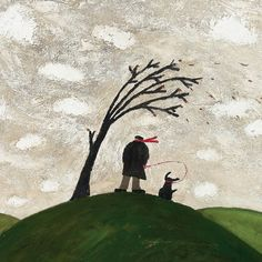 'A Windy Day' by Gary Bunt