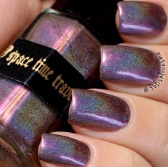 "116 Likes, 4 Comments - Alex D. (@polishlovesme) on Instagram: ""Star Gazer from @space_time_travels is yet another gorgeous shifty polish 💜✨😍😱🙌🏼 releases this…"""