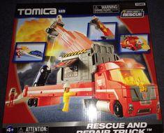 Tomica Hypercity Rescue-Rescue and Repair Truck NIB #Tomica #NA