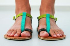 Sexy Leather Sandals  Women's Shoes  Any Colors  Any by SHUNAMI, $50.00