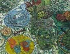寶島上的鮮果 賀蕙芝 油畫 91x116.5cm x1p