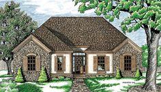 House Plan 97444 | European    Plan with 1472 Sq. Ft., 3 Bedrooms, 3 Bathrooms, 2 Car Garage