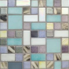 Our unique glass mosaic tiles feature mirror, recycled, shell, stone and stainless steel patterns. Browse an array of colorful glass tiles and specialty tiles. Backsplash Ideas, Tile Ideas, Kitchen Backsplash, Kitchen Redo, Kitchen Ideas, Decorating Ideas, Decor Ideas, Condo Living, Glass Mosaic Tiles