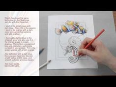 Colored Pencil Flowers - YouTube